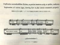現代の版による装飾音