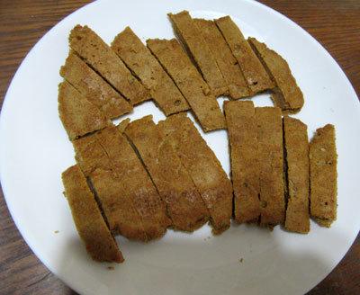 ホットケーキ風パン