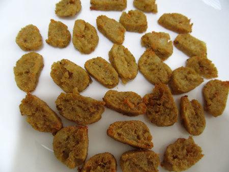 ポテトと生さけ入りクッキー