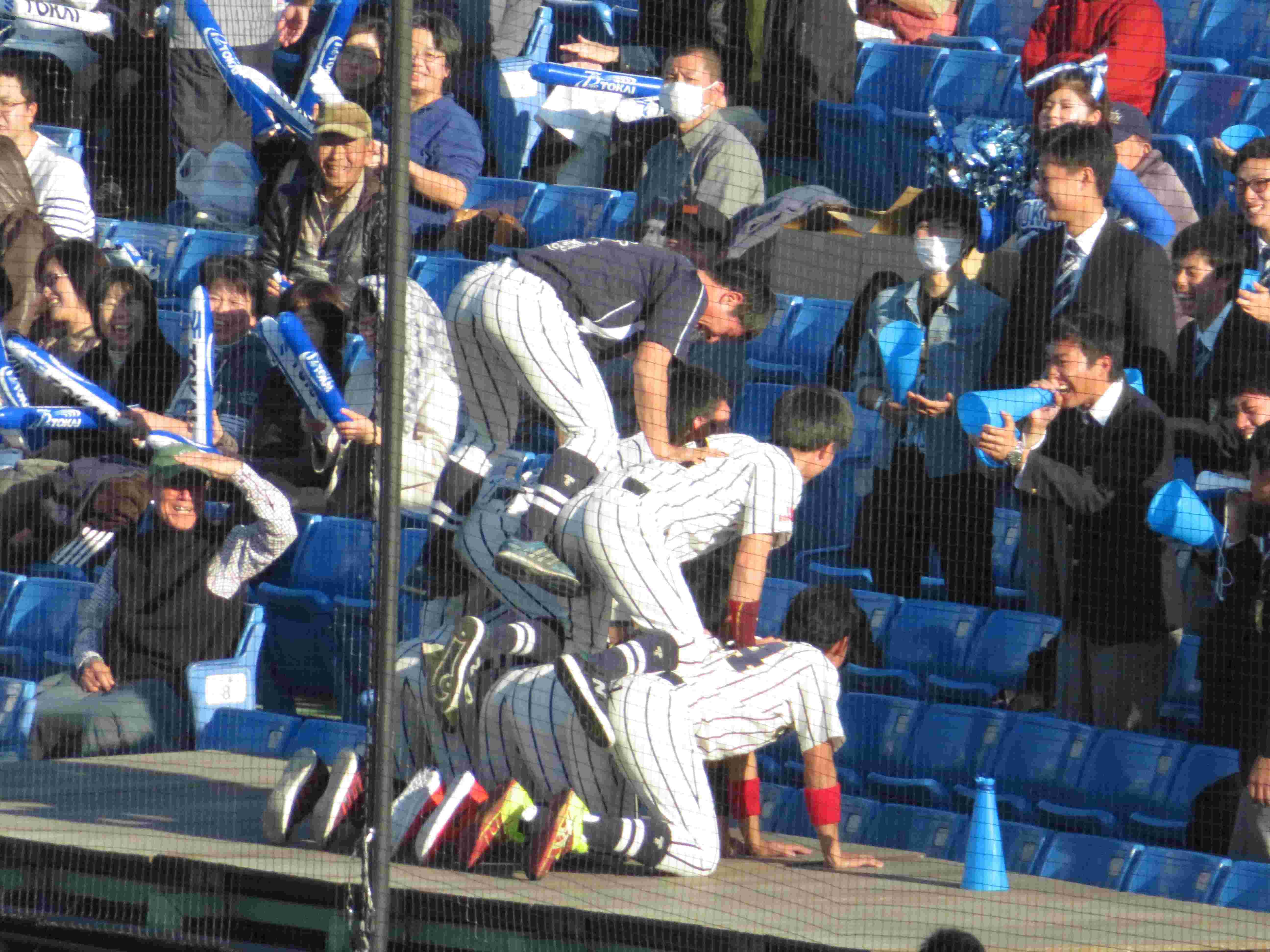 20161112東海大北海道 組体操