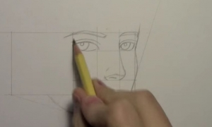 How to Draw a Realistic Manga Face, Line by Line