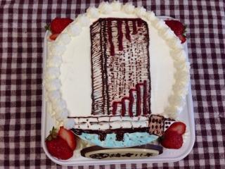 15のケーキに
