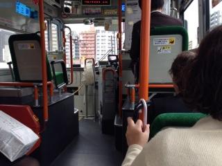 バス乗ってみました