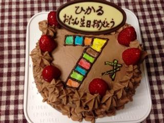 ケーキにした方が可愛い