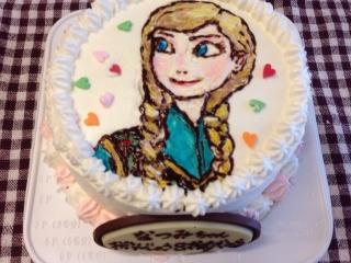 ケーキはアナ