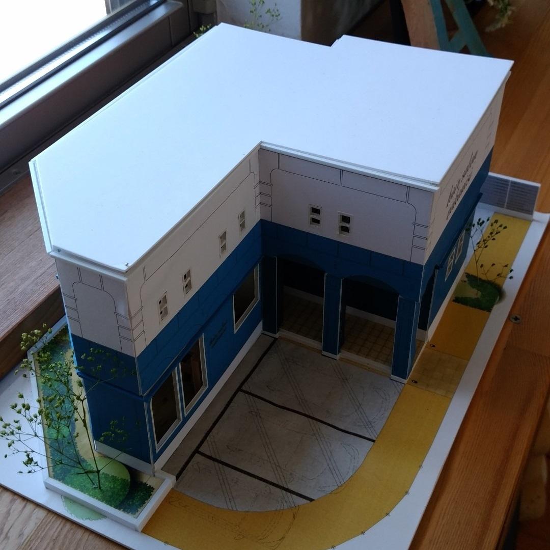 建築模型その1