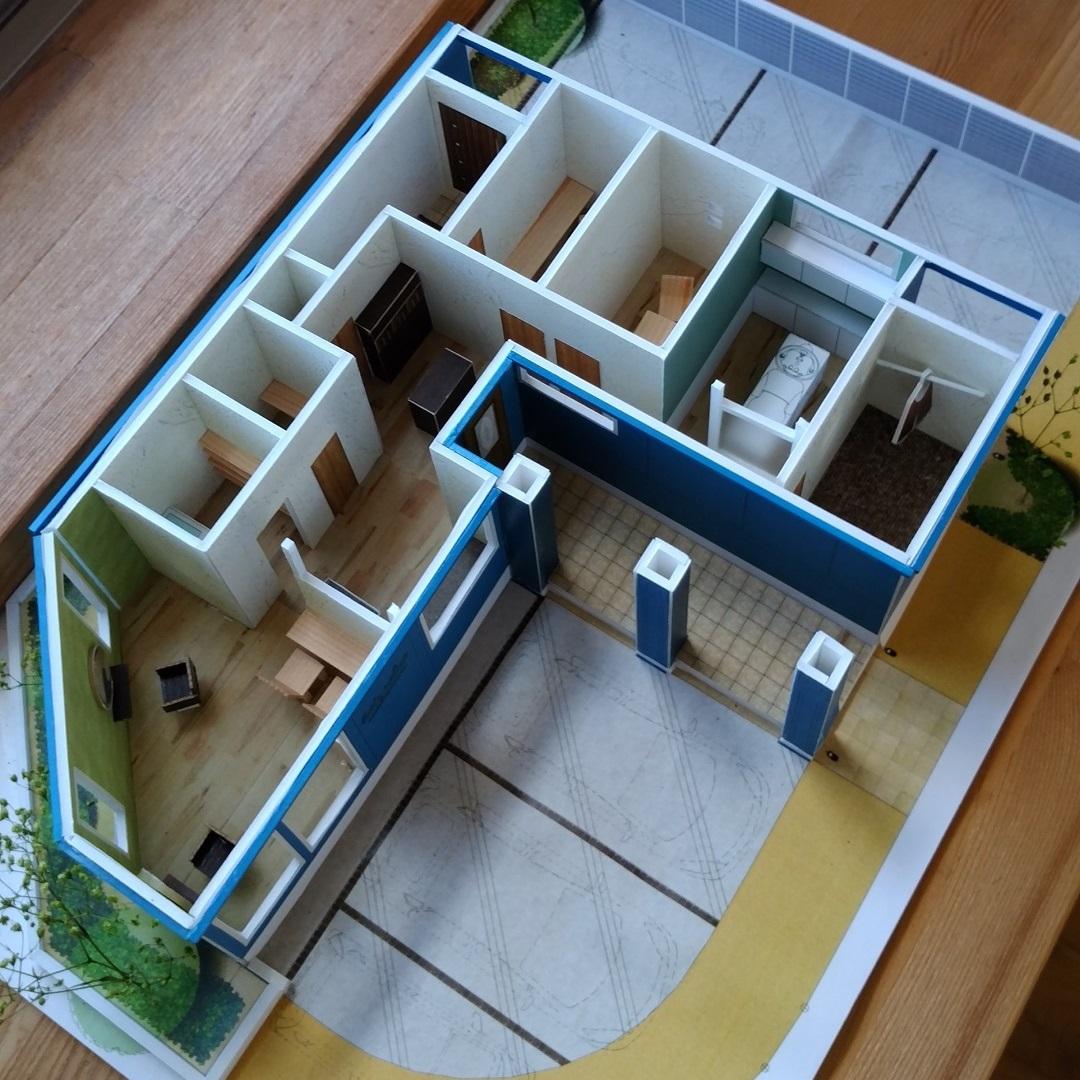 建築模型その2