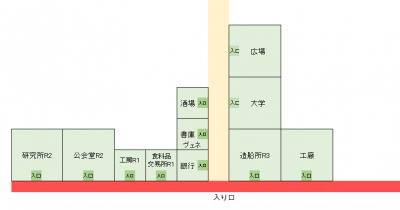 すっとこ1商会開拓街MAP3