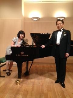 高野二郎ドイツリートコンサート二人