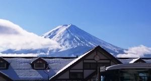 立体的富士山