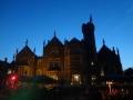 夜のOakley Court Hotel