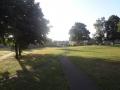 公園を抜ける