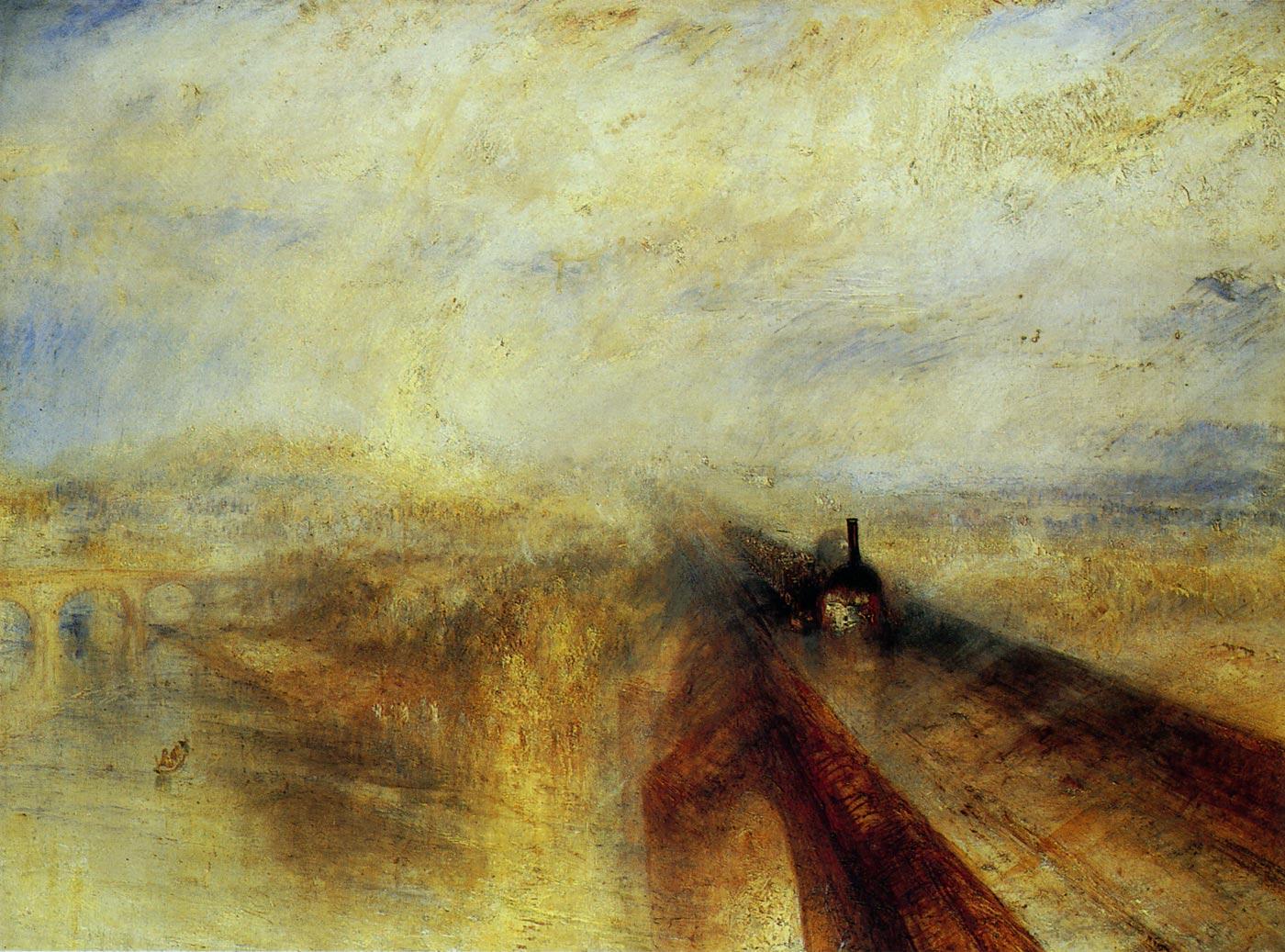 雨、蒸気、速度-グレート・ウェスタン鉄道 ターナー