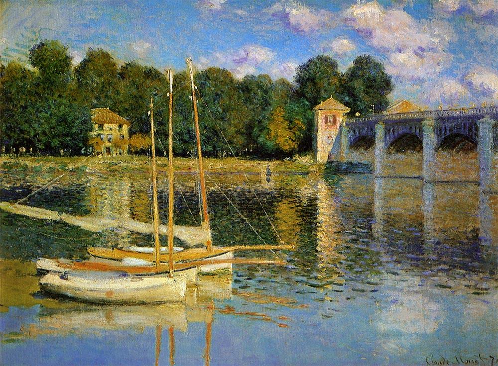 アルジャントゥイユの橋 モネ