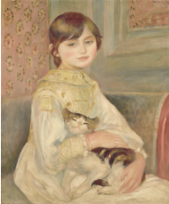 ジュリー・マネ》あるいは《猫を抱く子ども