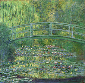 ポーラ美術館 睡蓮の池