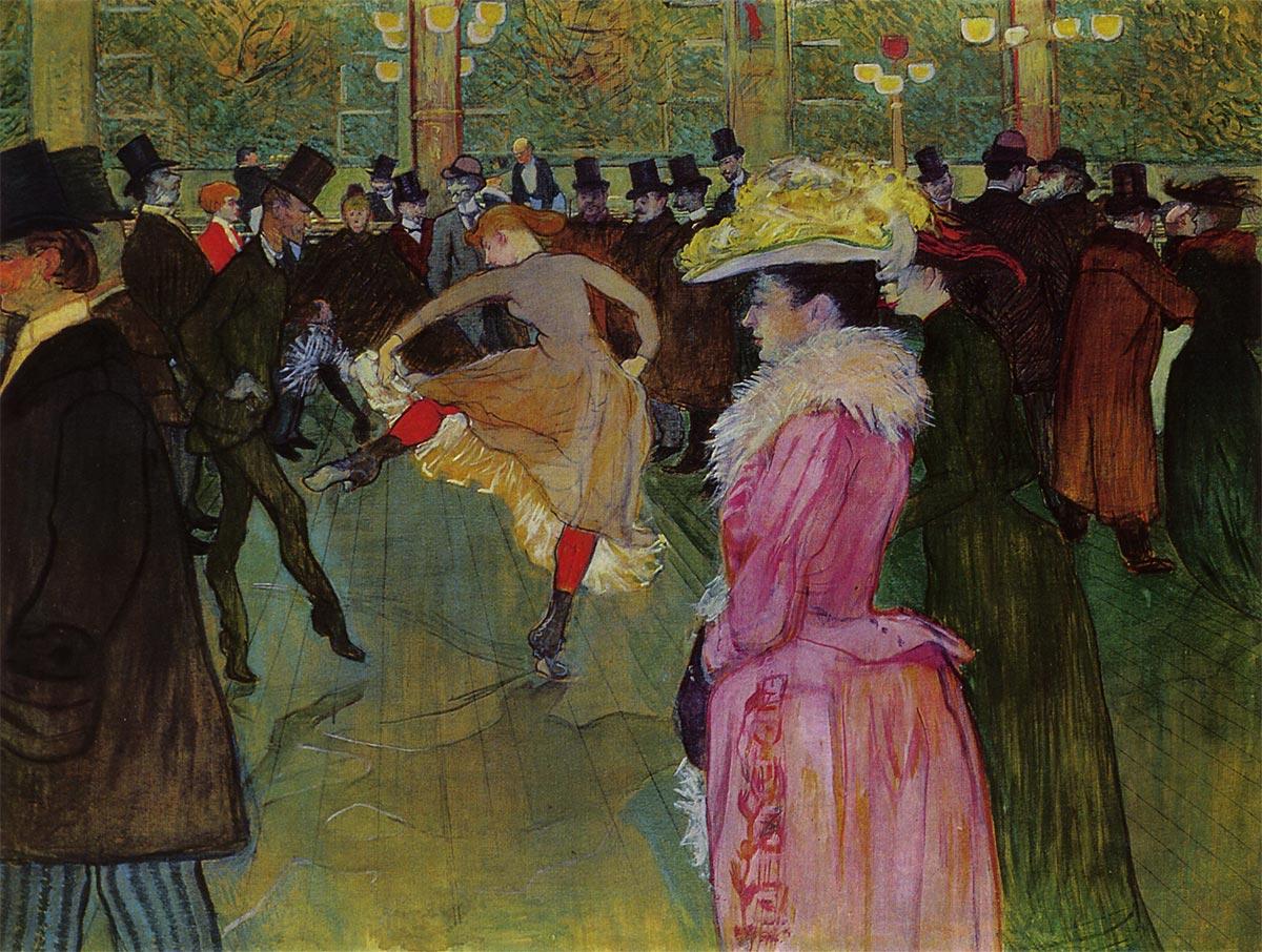 ムーラン・ルージュの踊り ロートレック