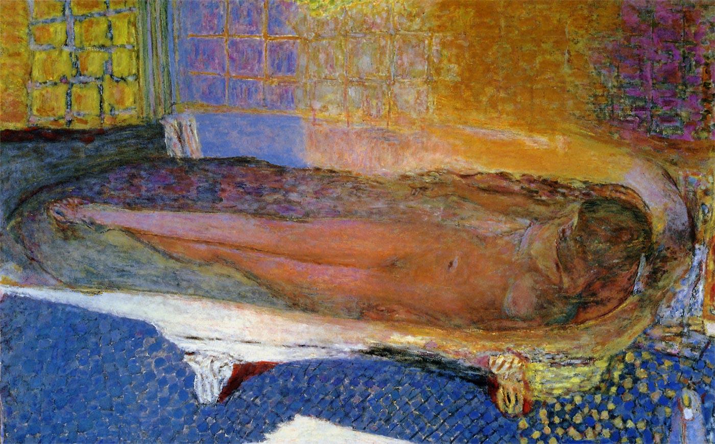 浴槽の裸婦 ボナール
