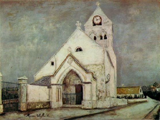 ドゥーユ村の教会 ロートレック