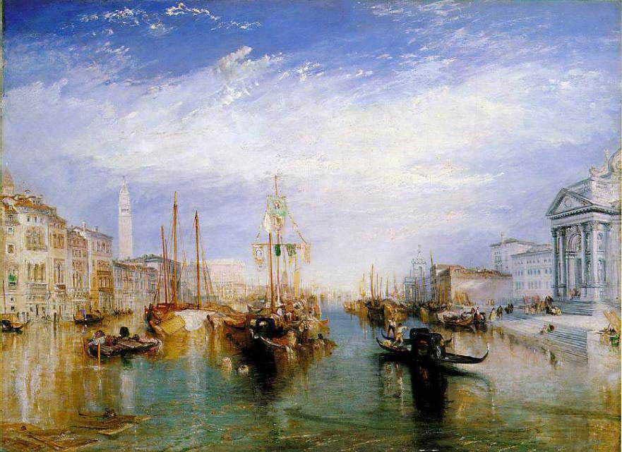 ターナー 大運河ヴェネチア