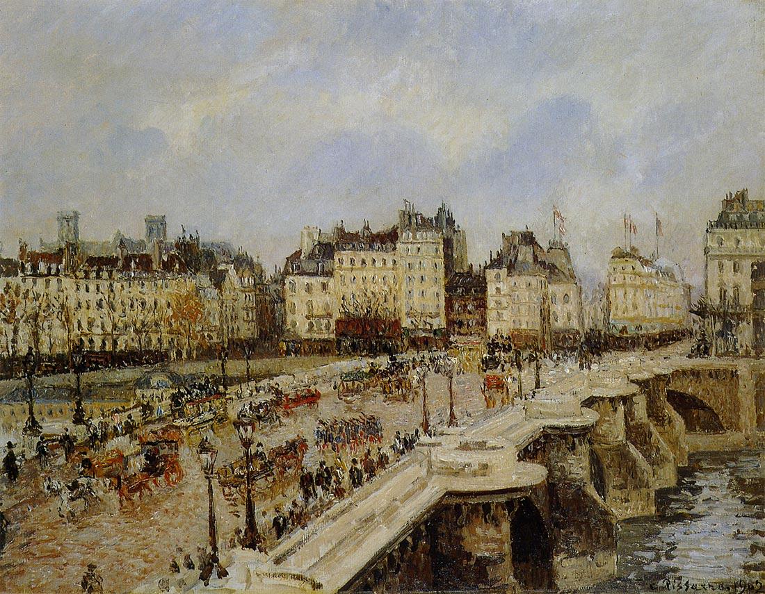 ピサロ パリのポンヌフ