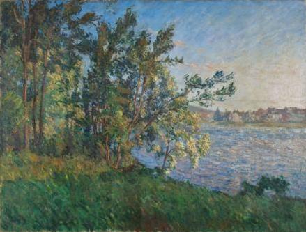ヴェトゥイユの河岸からの眺め、ラヴァクール