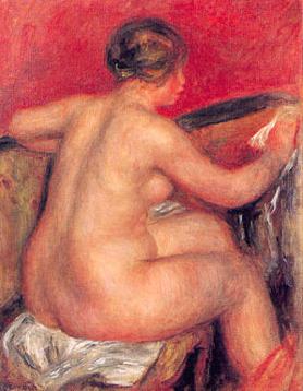 裸婦 ルノワール 三甲美術館