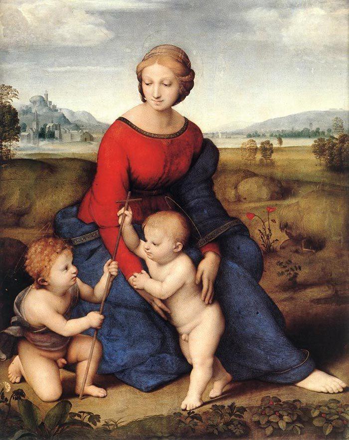 ベルヴェデーレの聖母 ラファエロ
