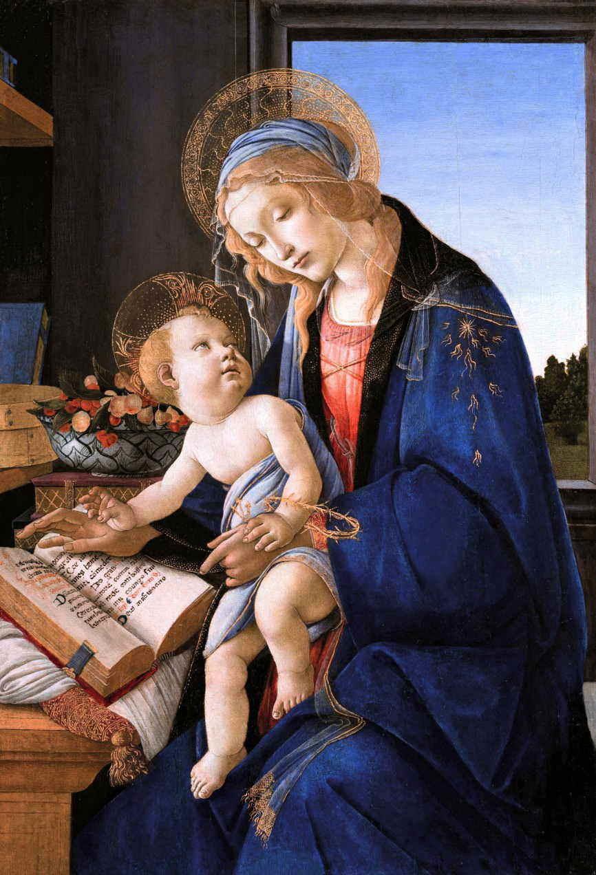 ボッティチェリ 聖母子