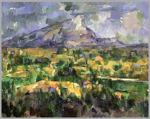 セント・ヴィクトワール山 セザンヌ