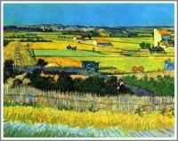 ラ・クローの収穫 ゴッホ