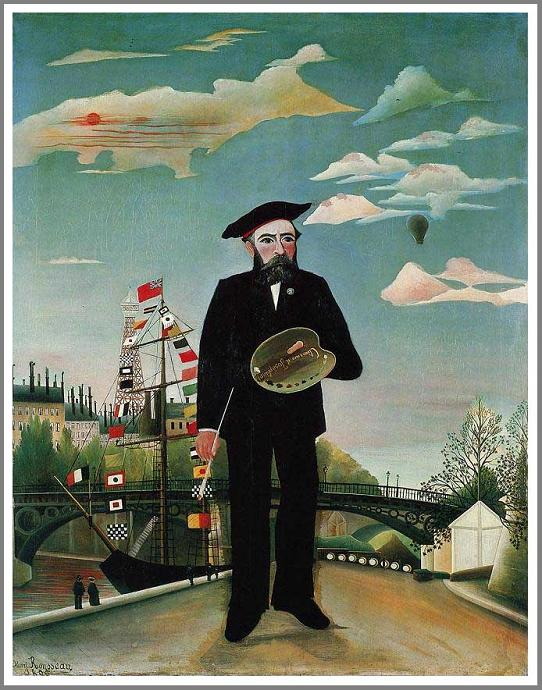 アンリ・ルソー 私自身、肖像=風景