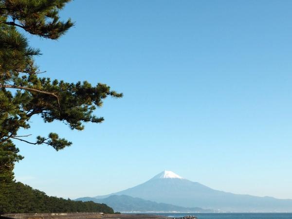 富士山と三保の松原_20161120
