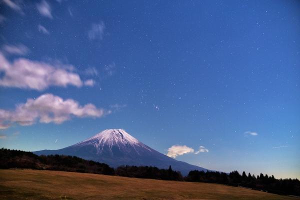 朝霧高原から見た富士山_20161209