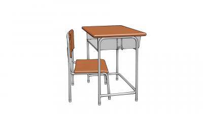 机と椅子1