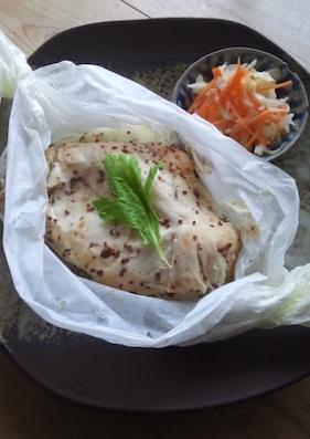 むね肉の包み焼き(ブログ)