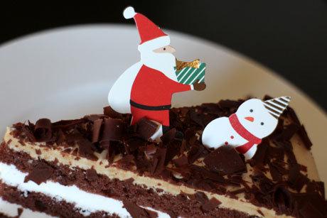 クリスマスだからケーキ