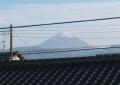 富士の雪化粧