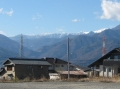 冬の南アルプス主峰群