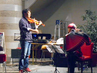 バイオリン&アコーディオン