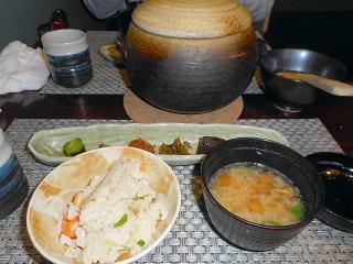 味噌汁&ご飯
