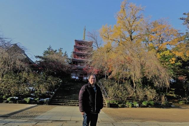 2016松戸・本土寺の紅葉と自分