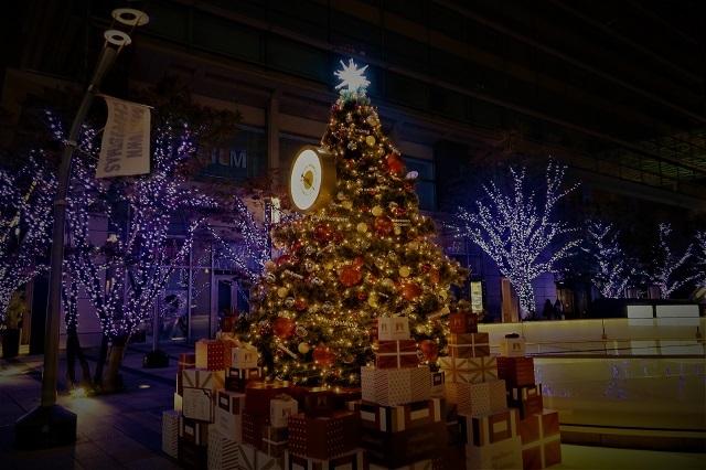 2016の東京ミッドタウンのイルミネーション(1)