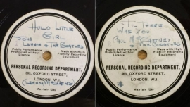 beatles demo record