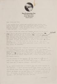 Lennon's letter 1