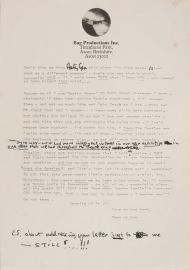 Lennon's letter 2