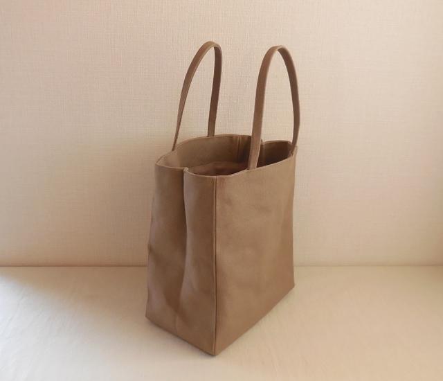 帆布 紙袋バッグ