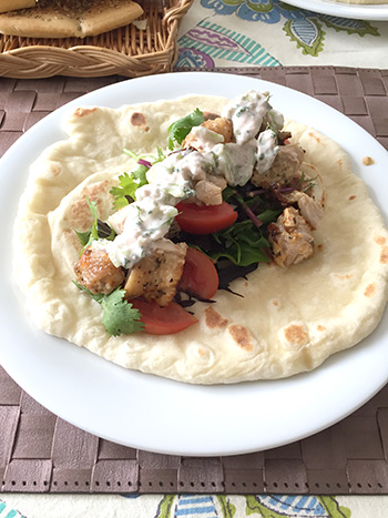 ギリシャ・トルコの中近東エリアのお料理
