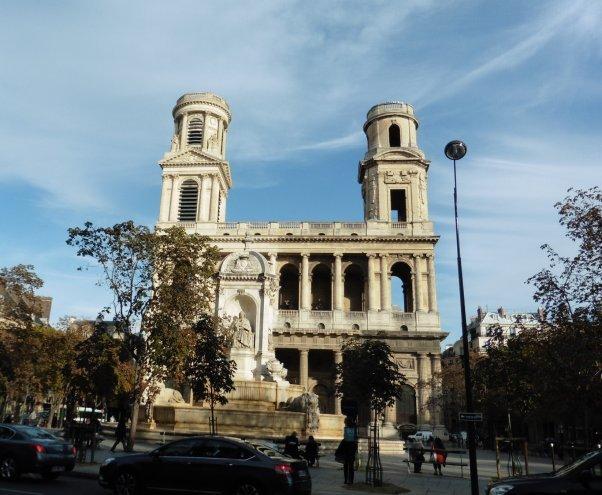 写真サンシュルピス教会