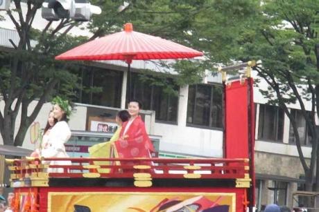 大船鉾巡行 祇園と先斗町の舞妓や芸妓さんたち